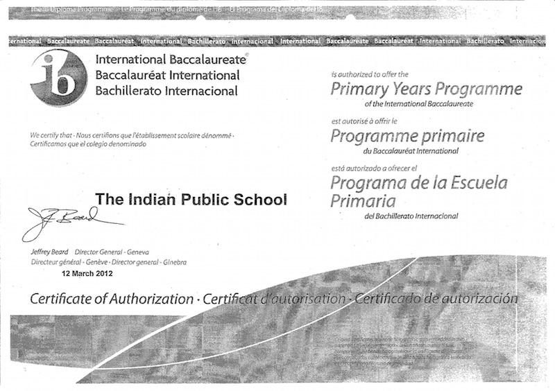 Home - The Indian Public School - Coimbatore